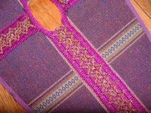 Vestment Purple lent cloth fabric