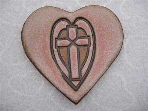 Cross On Heart love