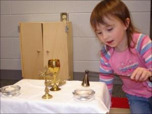 Child at Altar Sunday School