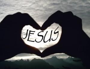 jesus hand heart