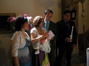 Family Baptism sacrament