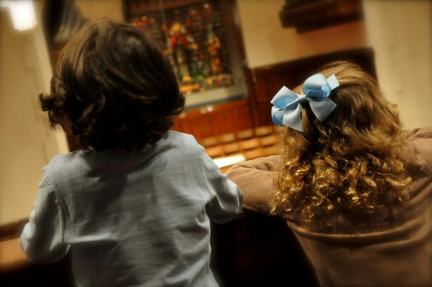 Dear Parents: Thank You for Bringing Your Children to Church