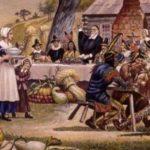 pilgrims dinner thanksgiving