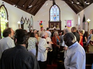 Peace Out: Rethinking 'Passing the Peace' in Church