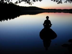 inner calm peace nature lake