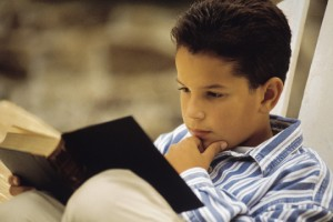 kid child reading boy Bible