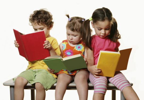books kids reading