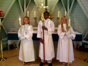 Commissioning and Blessing Acolytes