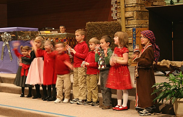 The Cuteness of Children in Church (not)