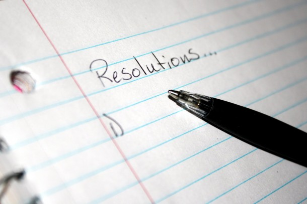 Digging Deeper: New Year's Resolutions