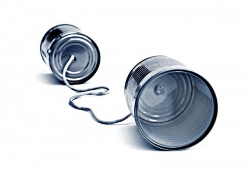 tin can telephone communication technology