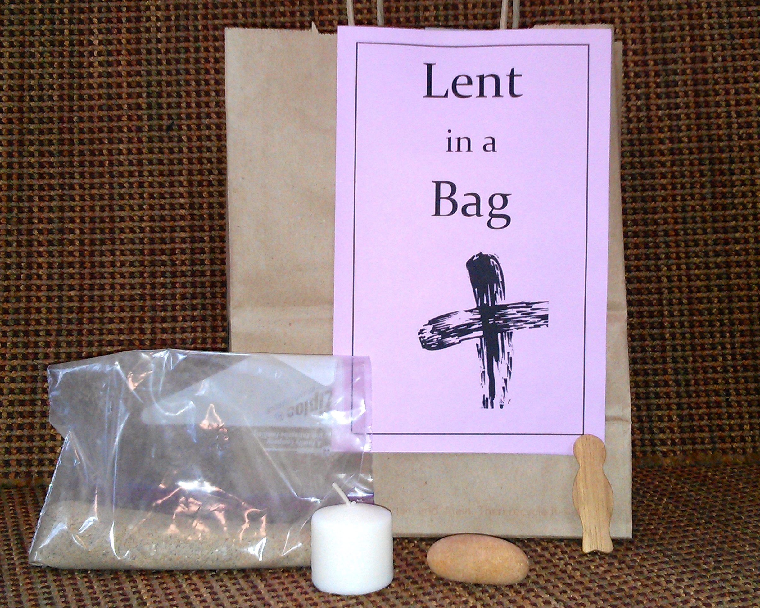 Lent in a bag an activity for church or home biocorpaavc