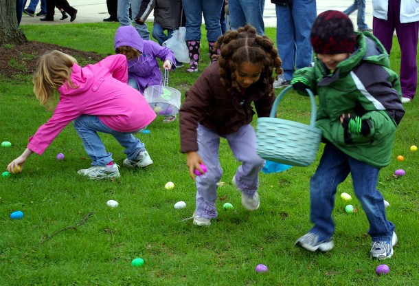Defending the Easter Egg Hunt!