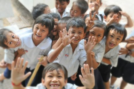 children group fun kids