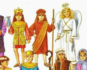 Christmas Pageant Costume Patterns