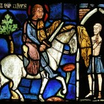 Saint Martin stained glass
