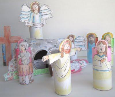 Make a Resurrection Set: Hands-on Easter Learning