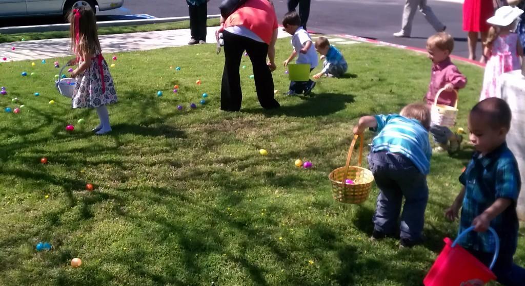 Good Sam Easter egg hunt 2
