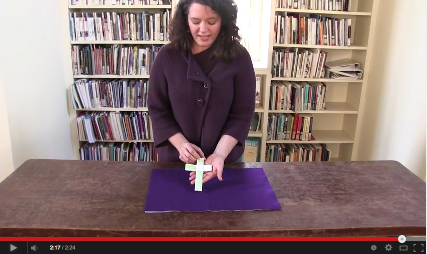 Video Tutorial: How to Make a Palm Cross