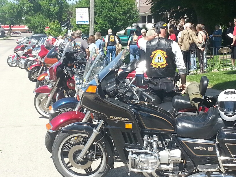 blessing of the bikes 1