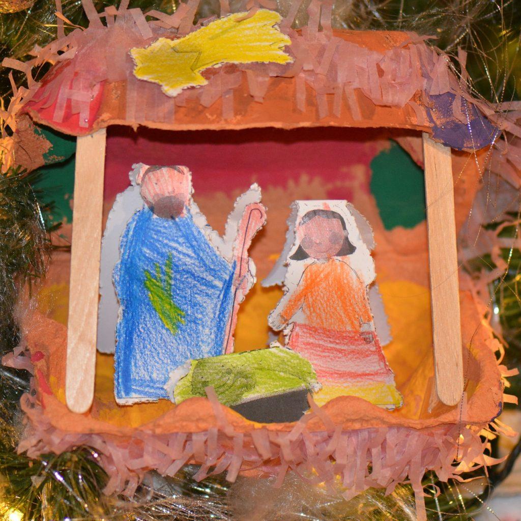 christmas manger scene craft