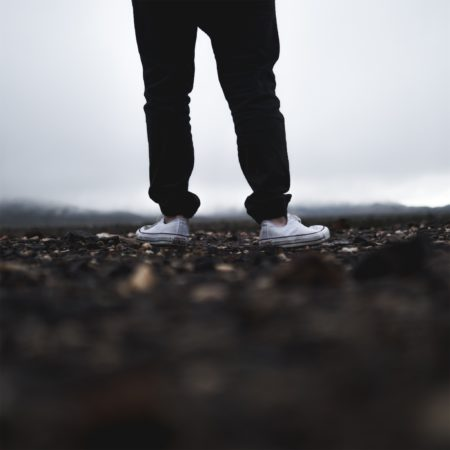 feet on path