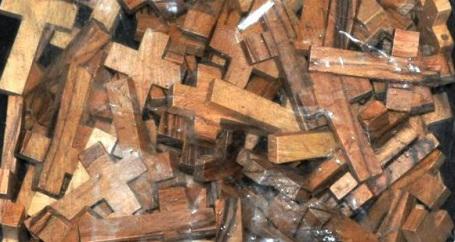olive wood crosses