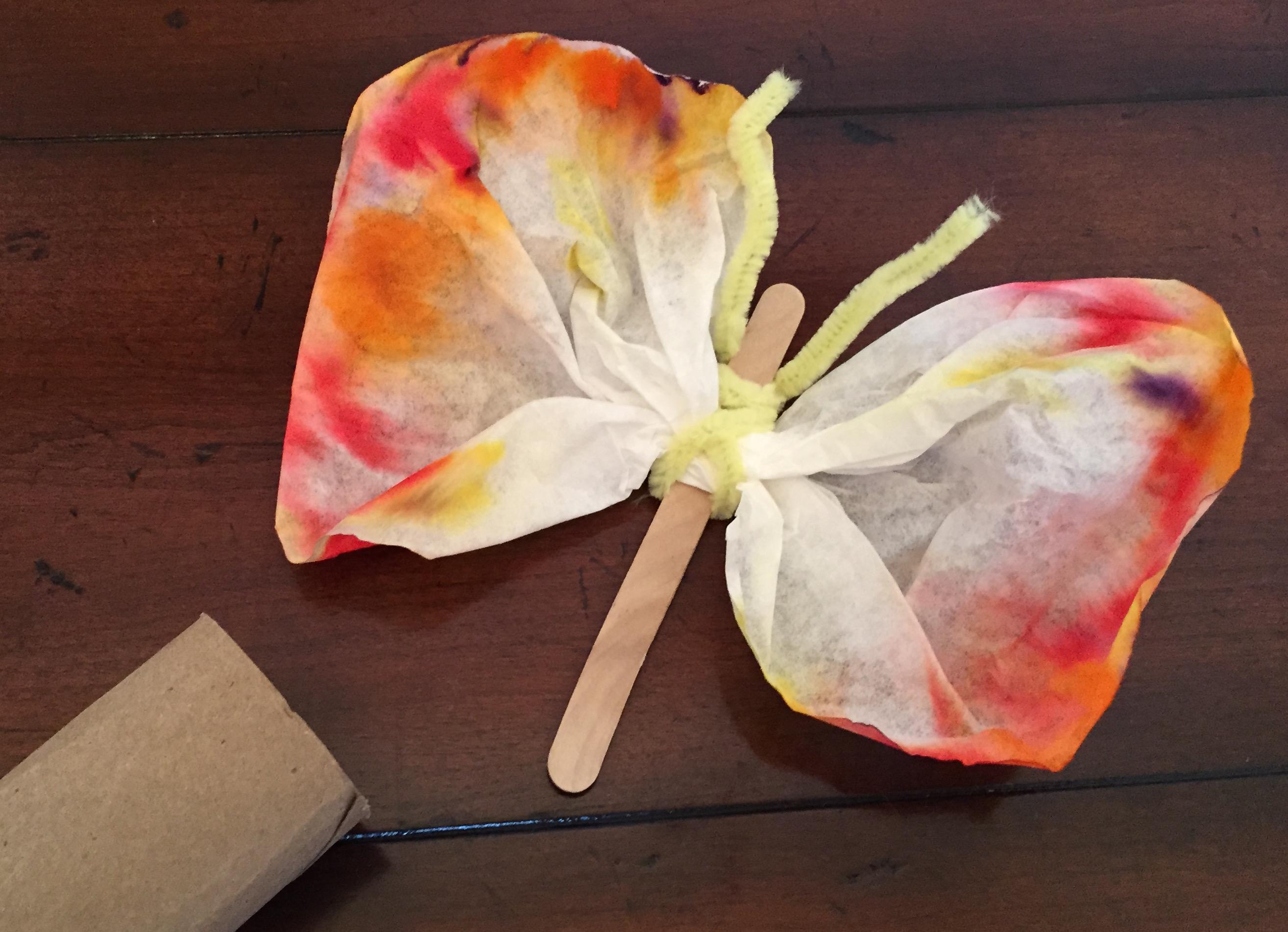 Easter Craft: Resurrection Butterflies