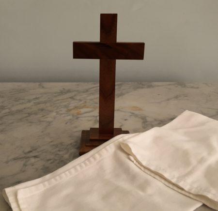 Cross and cloth