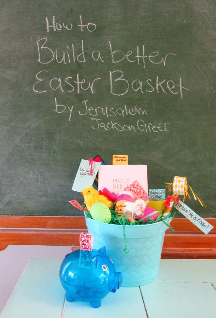 Faith Filled Easter Basket