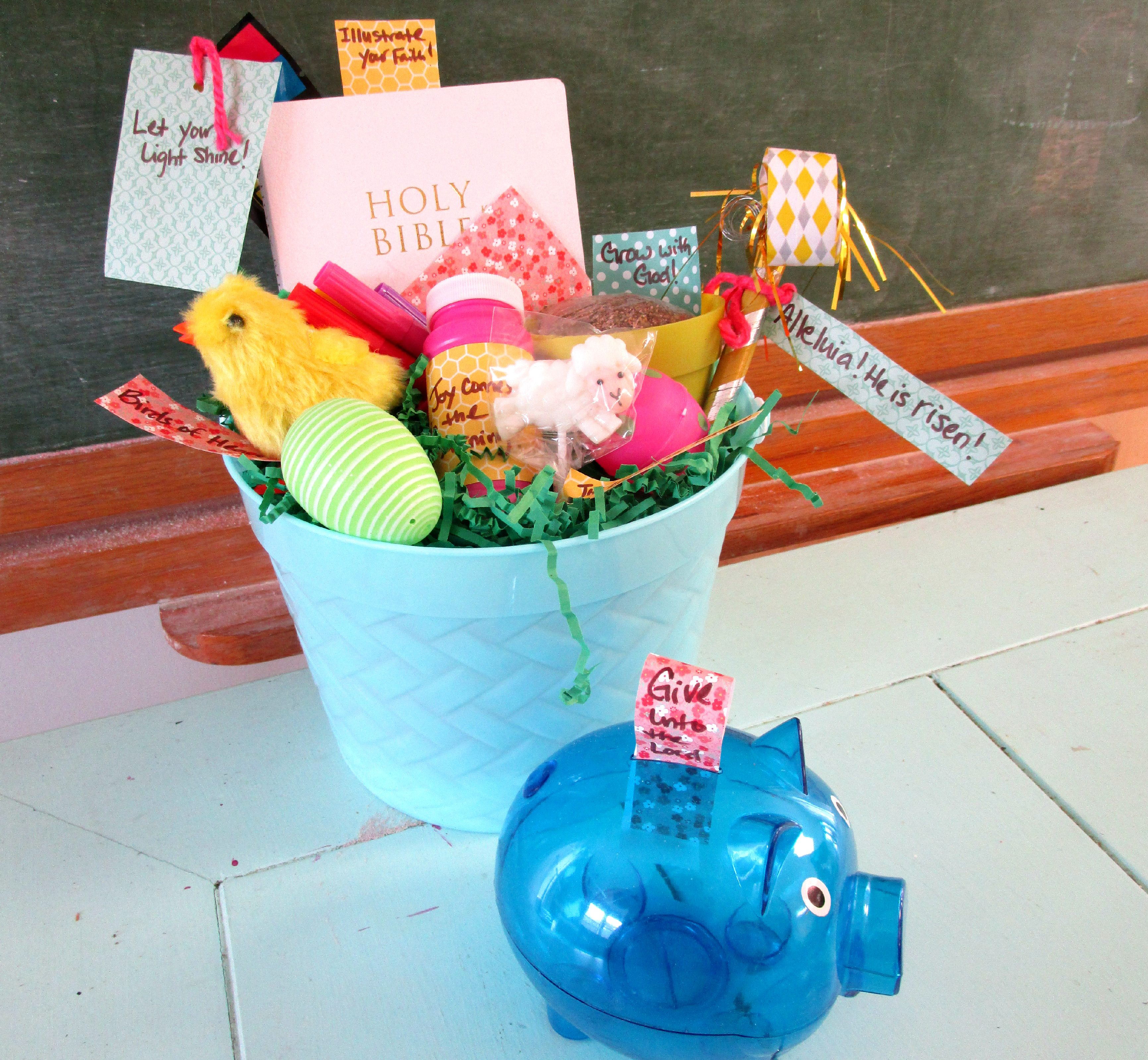Build a better biblical easter basket easter isnt just about getting it is also about giving use easter and jesus great gift to us as a springboard to begin collecting loose change negle Images