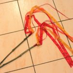 Pentecost fire stick ribbon