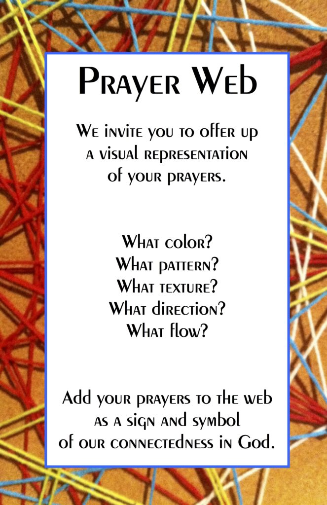 Prayer Web invite
