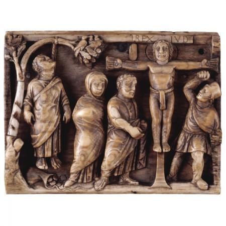cross ivory Jesus British Museum 2