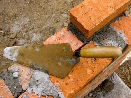 brick mortar trowel
