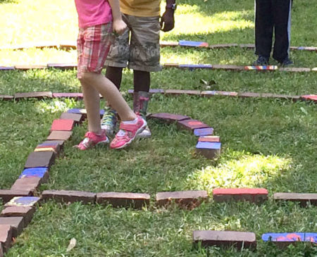 Bricks of Faith: Creating a VBS Labyrinth