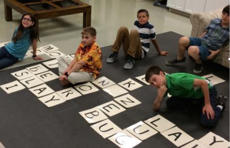 Sunday School Activity: Life-Size Scrabble