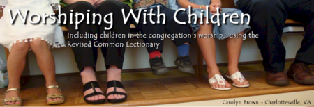 worshipping with children header