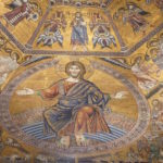 jesus saints mosaic