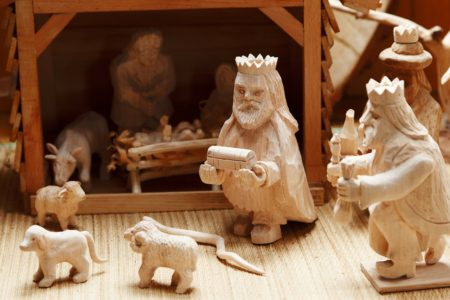 Go On, PLAY with Your Nativity Creche