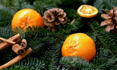tangerines oranges Christmas