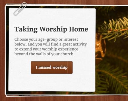 I missed worship site