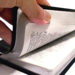 opening Bible