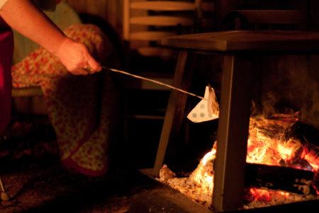 Ash Wednesday Backyard Bonfire