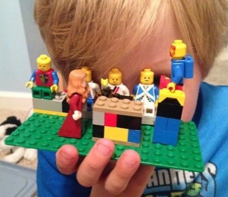 A Lego Journey through Holy Week