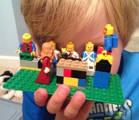 A Lego Journey through Holy Week