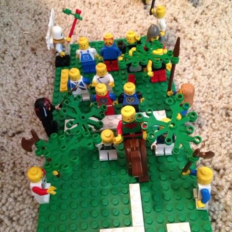 Image result for holy week lego challenge