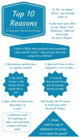 Top 10 Reasons Lords Prayer Challenge