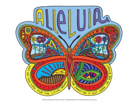 Alleluia butterfly