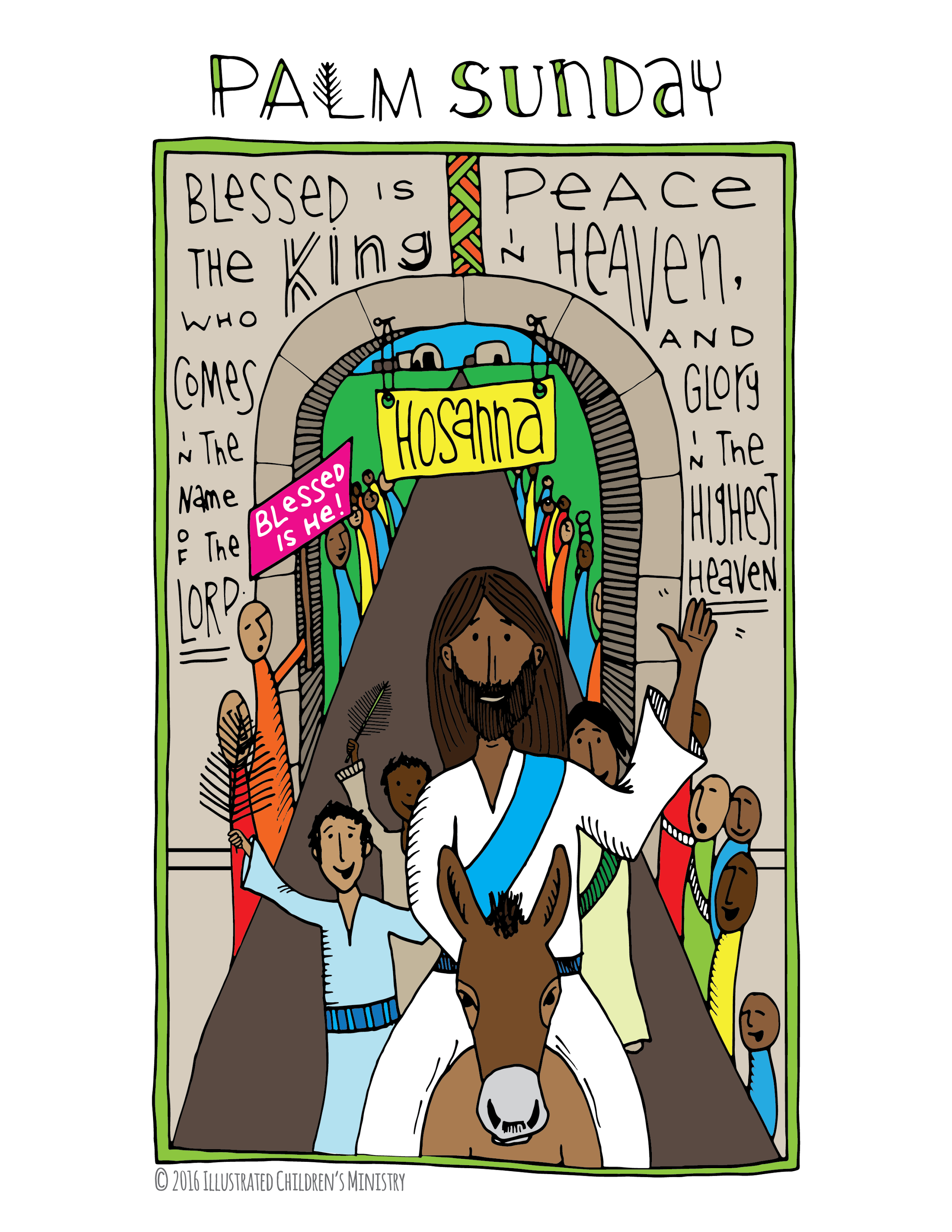 illustrated children u0027s ministry a resource for all ages